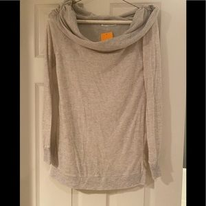 Women's Peach Love boutique sweater-oatmeal color